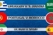 Portugal vs Morocco, Uruguay vs Saudi Arabia, Iran vs Spain FIFA World CUP 2018, Free Live Streaming