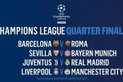 UEFA Champions League Barcelona Vs Roma And Liverpool Vs Manchester City